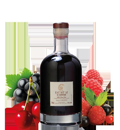 Ratafia presque champenois Pinot Noir élaboré à Monthelon
