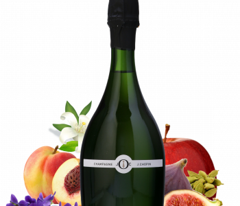 Blanc de noirs champagne from the originelles Julien Chopin range produced by Champagne Julien Chopin in Monthelon
